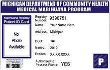 michigan medical marijuana card